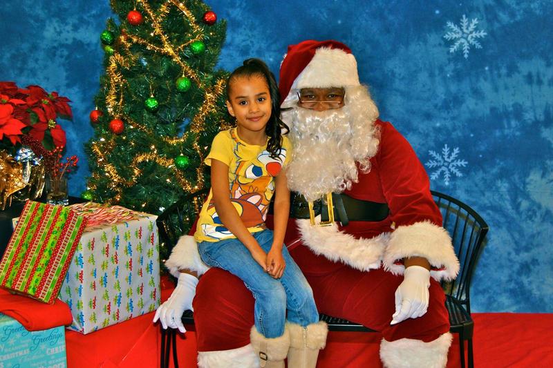This Christmas, Gabriel Quesada is 'Black Santa.'