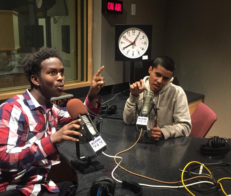 The hosts of this podcast, Hassan Abdi and Gerardo Ramos.