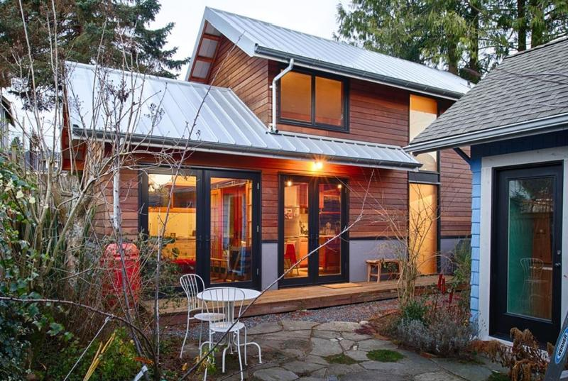 A view of one of Cast Architecture's backyard cottages. The firm has been a leader promoting backyard cottages in Seattle