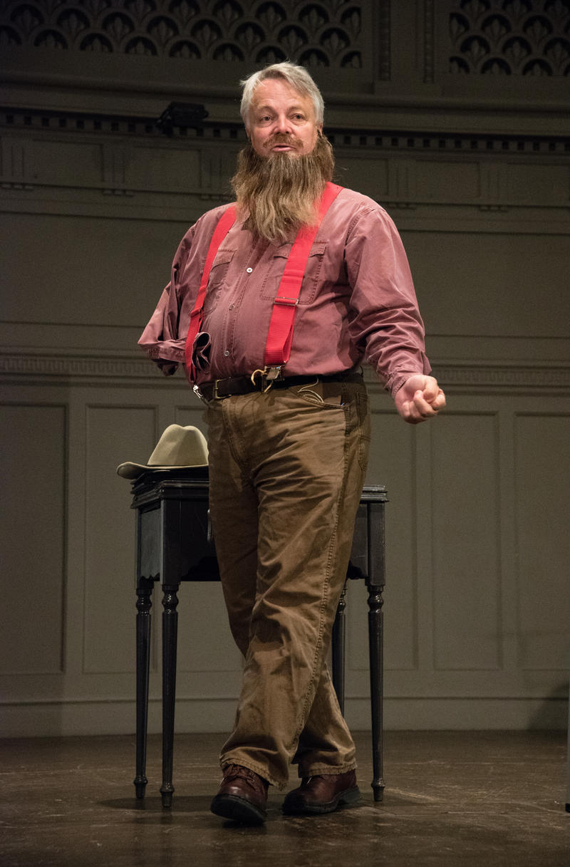 Clay Jenkinson as John Wesley Powell