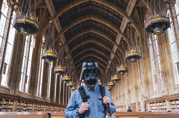 Vader explores Suzzalo.