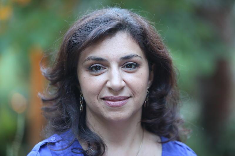 Poet and activist Lena Khalaf Tuffaha