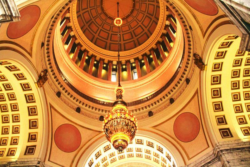 Capitol building in Olympia, Washington.