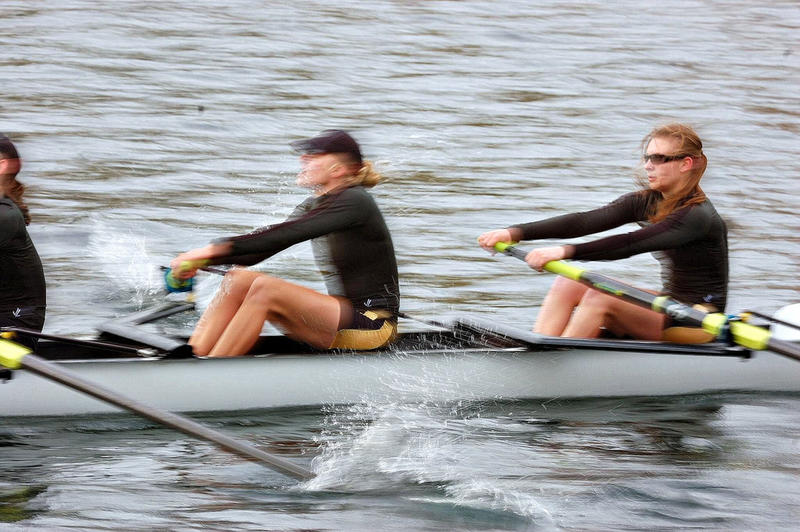 File photo of rowers.