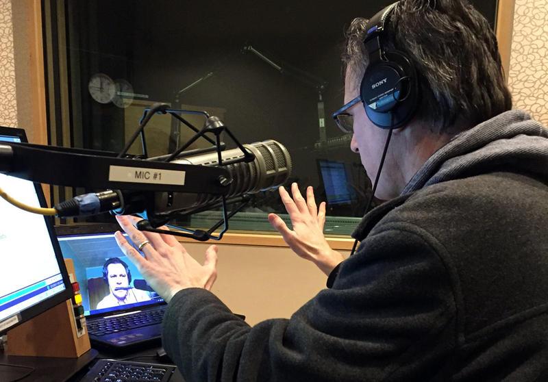 Luke Burbank joined 'Week In Review' via Skype today.