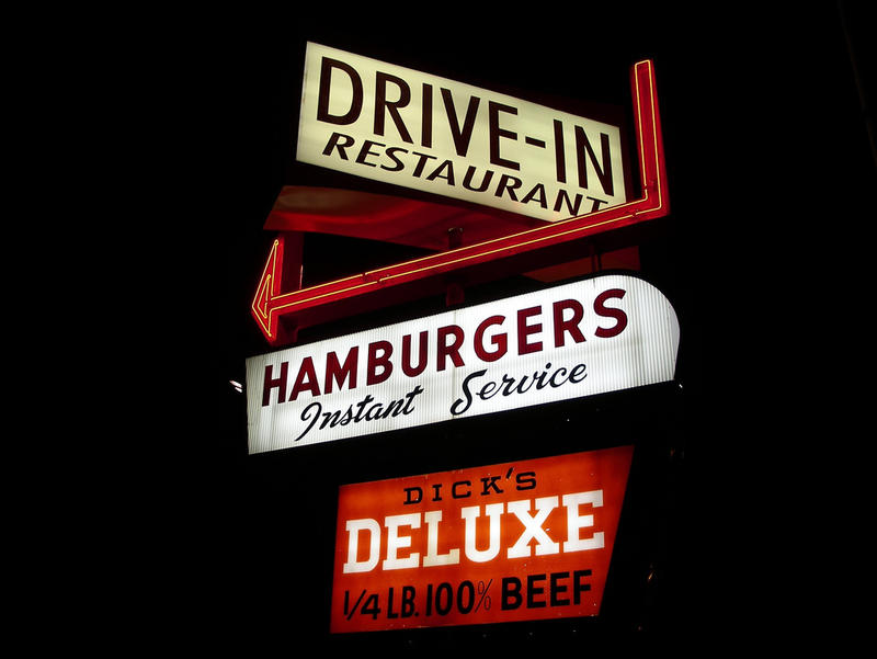 The Dick's Drive-In in Seattle's Wallingford neighborhood.