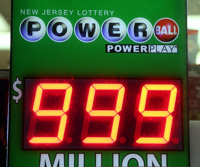 A Powerball sign can't accommodate a figure larger than $999 million.