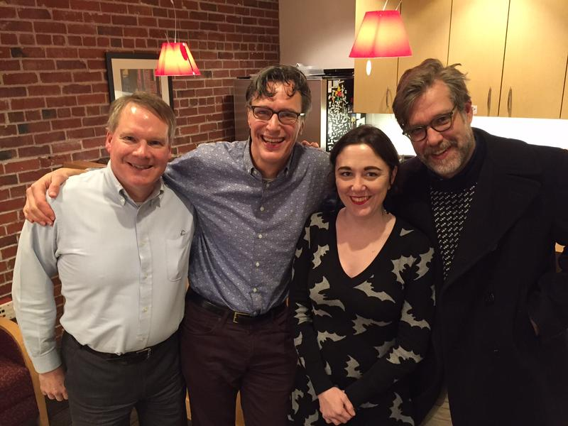 Paul Guppy, Bill Radke, Erica Barnett and John Roderick.