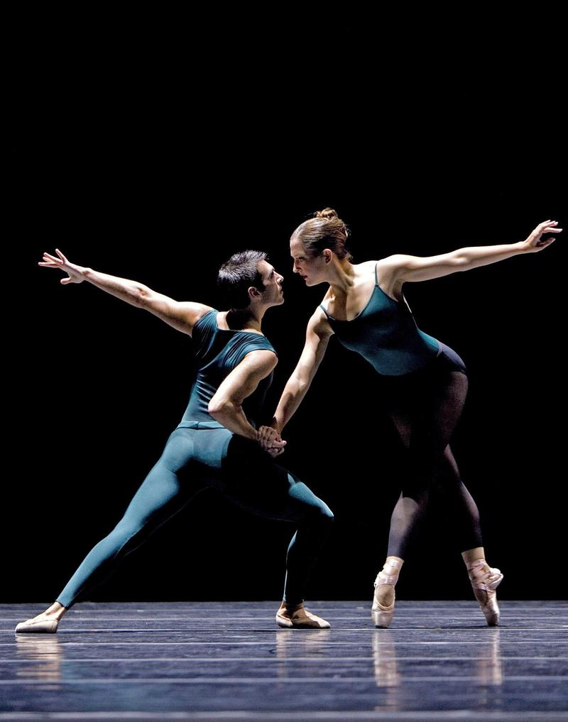 Jonathan Porretta and Carrie Imler in William Forsythe's 'In The Middle, Somewhat Elevated.'