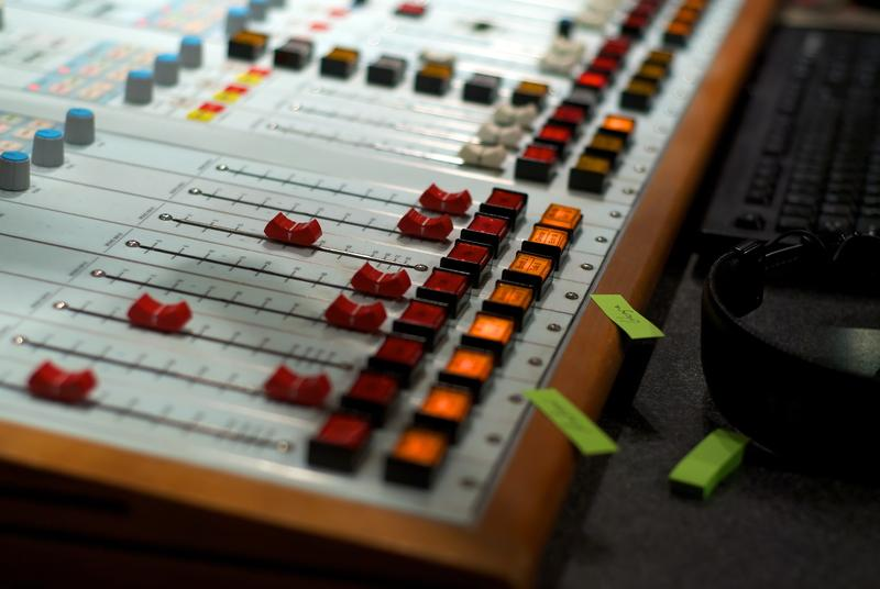 Sound board studio