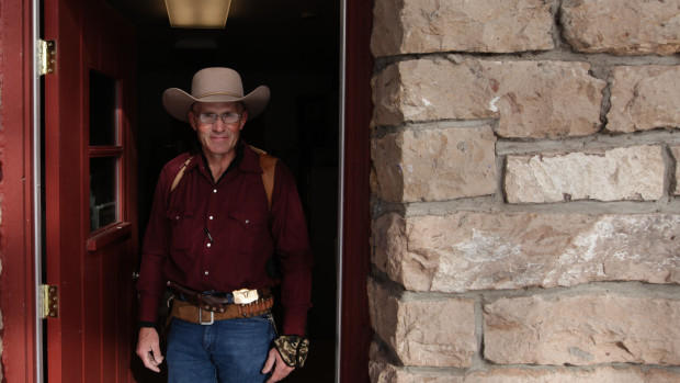 LaVoy Finicum, a rancher from Arizona, was shot by police on Tuesday night. The FBI has released a silent video of what happened.