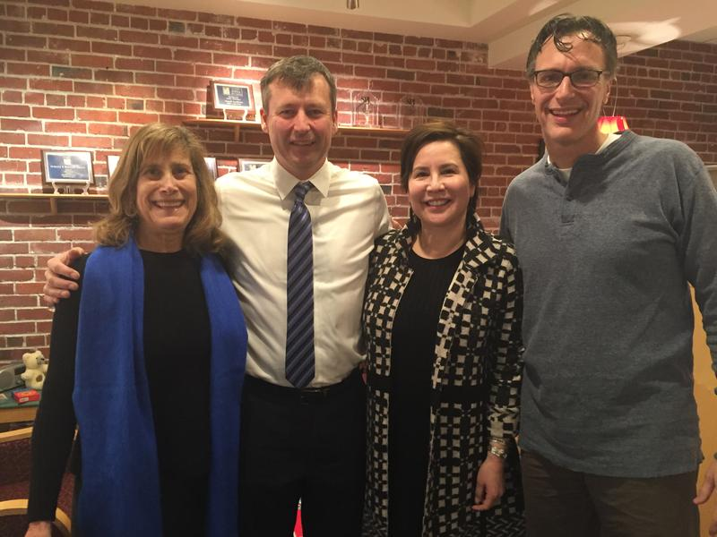 'Week in Review' panel Joni Balter, Matt Manweller, Debora Juarez and KUOW's Bill Radke.