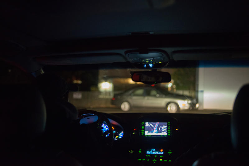 'Where would you park if you were homeless?' Volunteer Jude Mercer asked aloud, flipping on her high beams to inspect a car parked at the outskirts of a Bellevue shopping center at 3:42 a.m.  about halfway through the One Night Count.