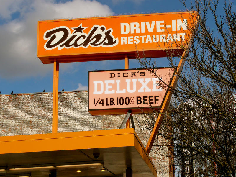 Dick's Drive-In on Capitol Hill.