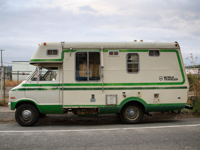 Homeless RV