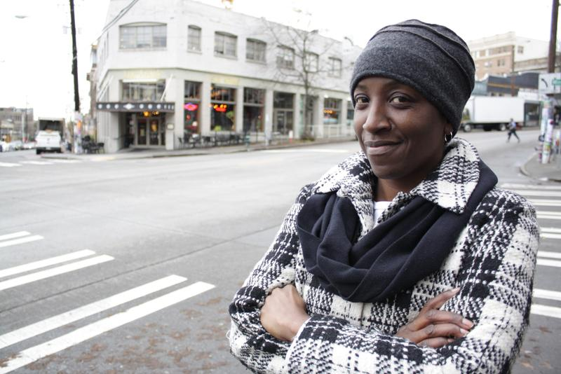 Jackie Williams had just gotten off her night shift at Swedish when I interviewed her outside the Salvation Army shelter on Capitol Hill. She would have a few short hours to sleep before the shelter closes for the day.