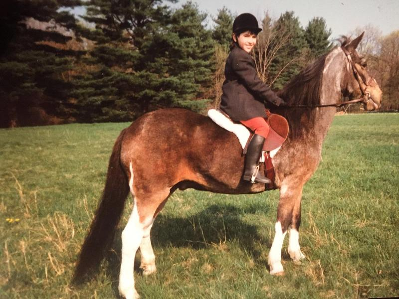 Jonathan Porretta, a principal dancer at Seattle's Pacific Northwest Ballet, rides Bucky the horse in his home state of New Jersey. Porretta knew he wanted to dance starting at age 3. Click on this photo to see more images of Porretta.