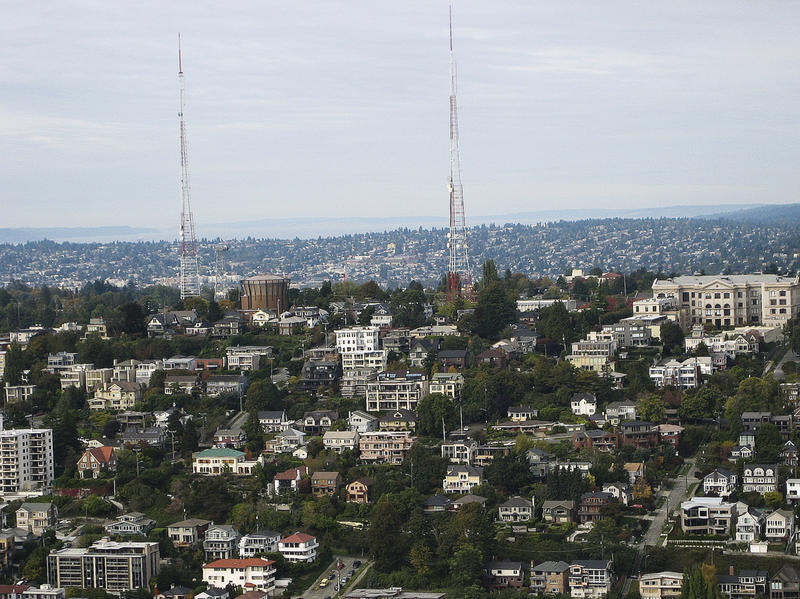 Queen Anne hill in Seattle.