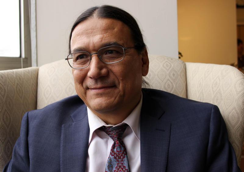 Attorney Vito De La Cruz in the KUOW studios.
