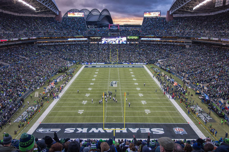 Seahawks CenturyLink Field Dec. 28, 2014 vs. Rams
