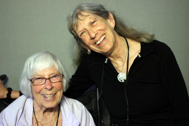 Mary Pritchett and her daughter Anne Roda