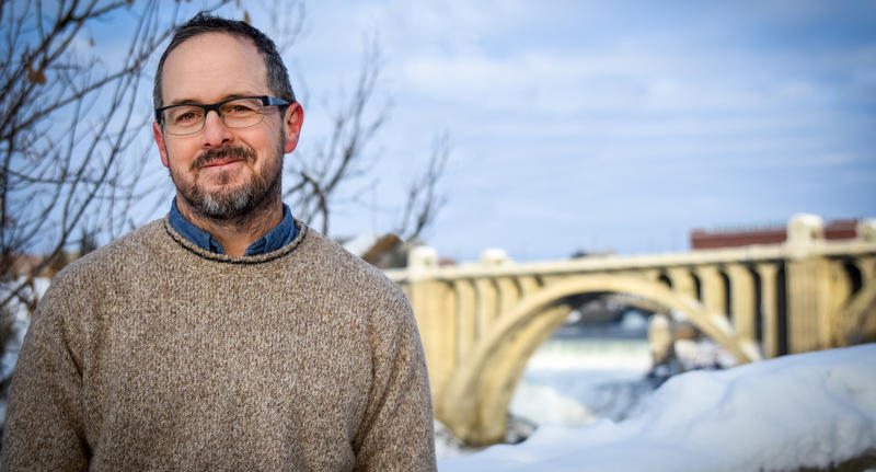 Washington state's fourth poet laureate Tod Marshall.