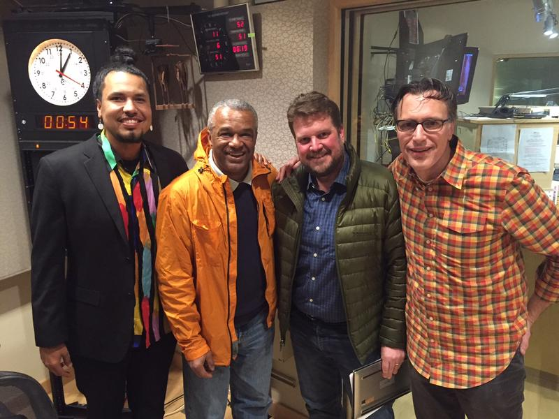 'Week in Review' panel Gyasi Ross, Ron Sims, Jonathan Martin and KUOW's Bill Radke.