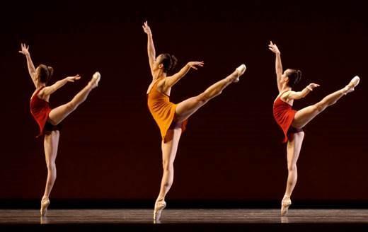 PNB Company dancers in Rush.