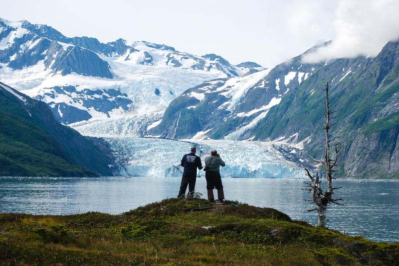 his is a shot from 2008 referred to many as Surprise Glacier during a trip to Alaska to catalog glacial melt and other climate-related research.