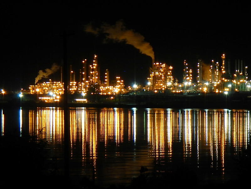 Tesoro refinery in Anacortes, Washington