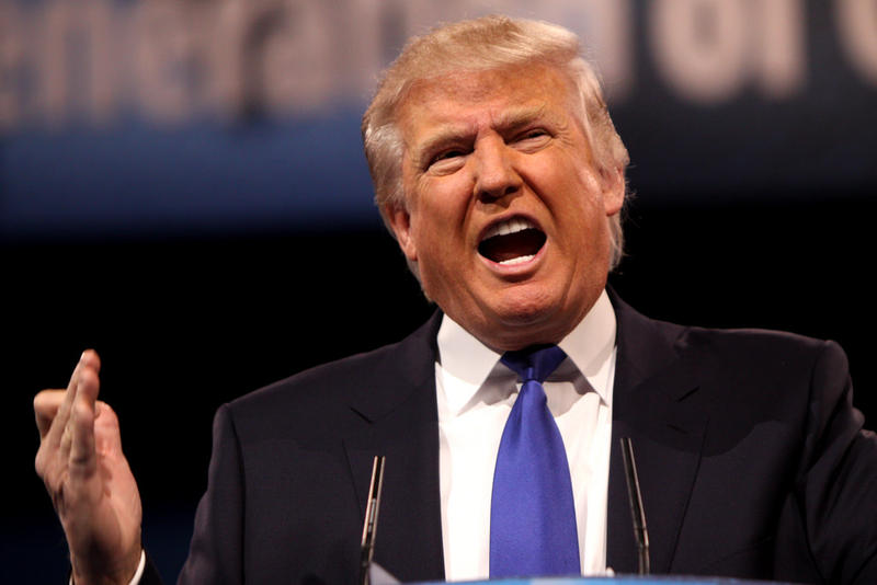 Presidential candidate Donald Trump, pictured here 2013 Conservative Political Action Conference.