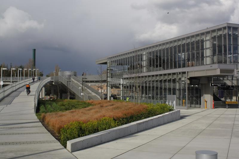 On Saturday, March 19 light rail stations opened serving Capitol Hill and the University of Washington (pictured).