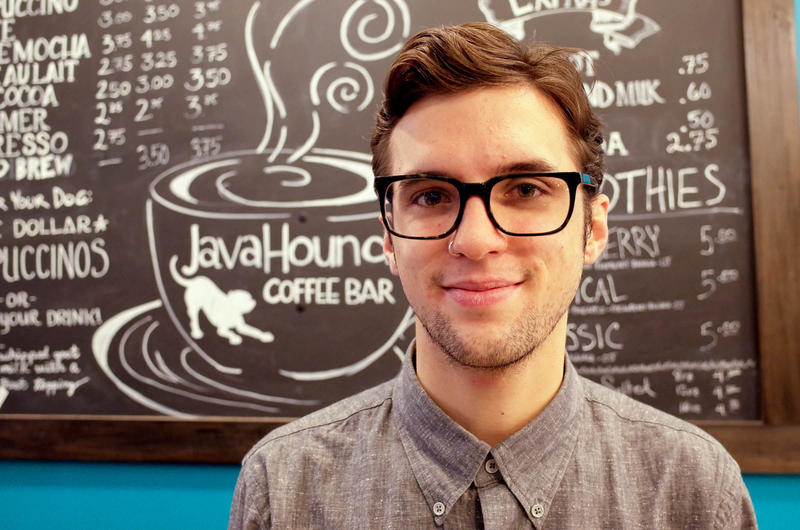 Andrew Layton is a barista at Java Hound, on Portland's stylish NW 23rd Ave. He knows how much taxes he pays.