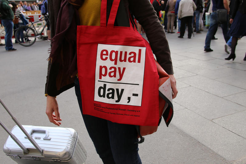 April 12 is National Equal Pay Day