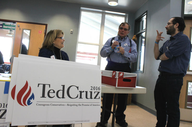 Maria Lancaster, David Hickman and Jose Risado worked to get pro-Cruz delegates elected to the state convention.
