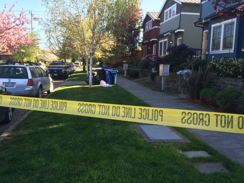 The 1600 block of 21st Avenue in Seattle's Central District, where human remains were found.