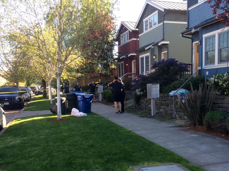 The white garbage bags contained human remains. It was found by a resident on the 1600 block of 21st Avenue in Seattle's Central District.