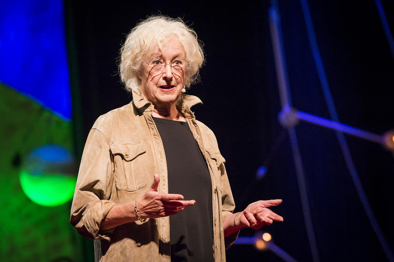 Author Lesley Hazleton at TEDGlobal 2013 in Edinburgh, Scotland.