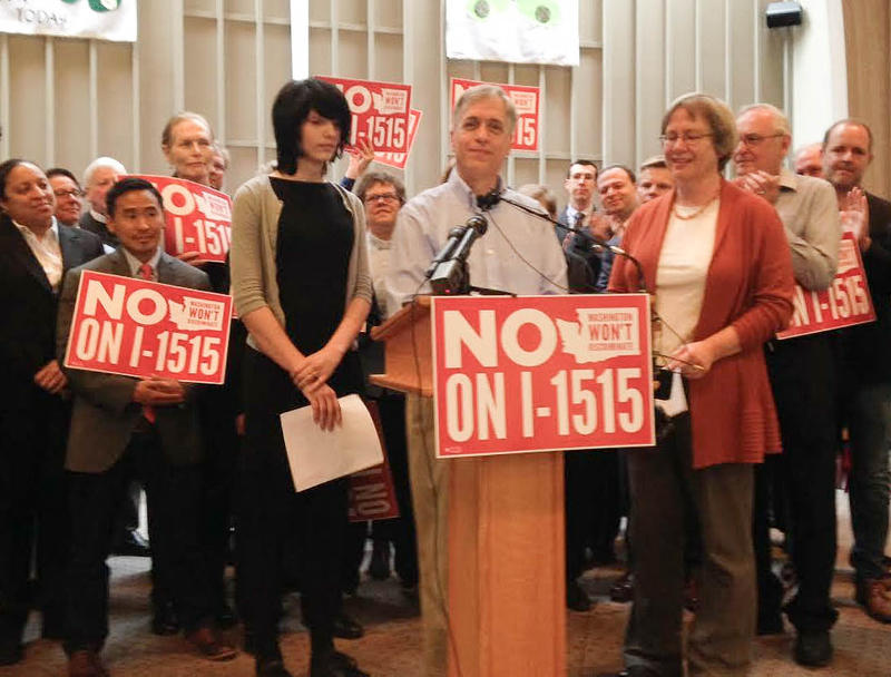 The groups facing off on the proposed ballot measure are Just Want Privacy and Washington Won't Discriminate.