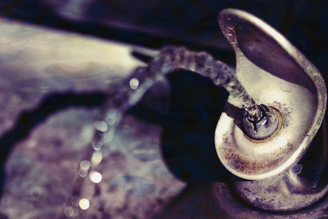 File Photo of an old water fountain.