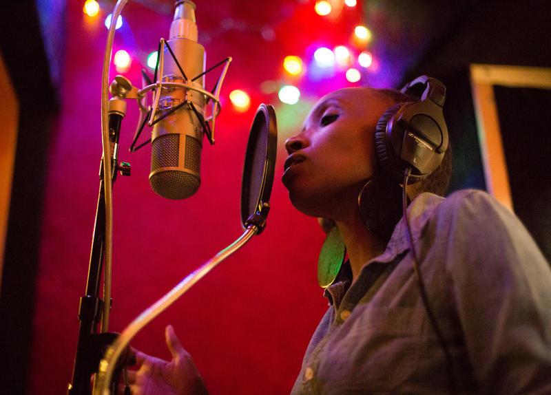 Singer Naomi Wachira.
