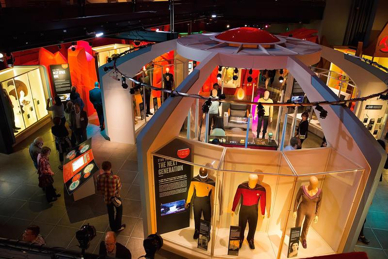 A view inside 'Star Trek: Exploring New Worlds'