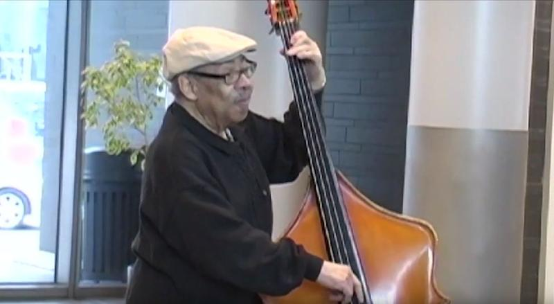 Jazz bassist Buddy Catlett.