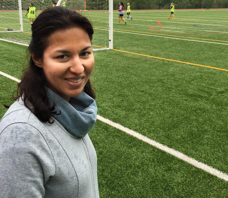 Fauzia Karmali  at the International School in Bellevue