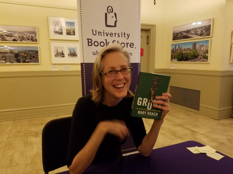 Author Mary Roach at Town Hall Seattle