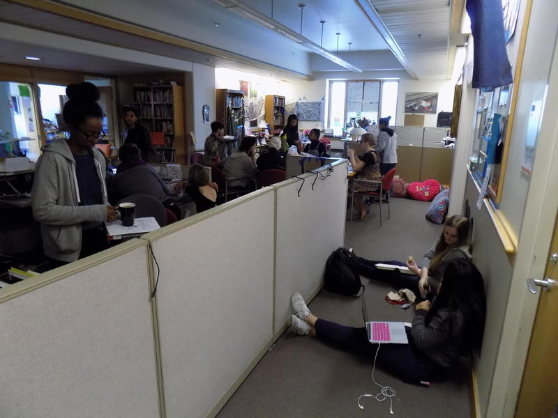 Students have been occupying the Matteo Ricci College offices at Seattle University asking for changes to the humanities curriculum.