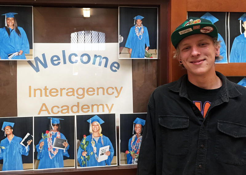 Jeremiah Rademacher says he'll be the first person in his family to graduate from high school.