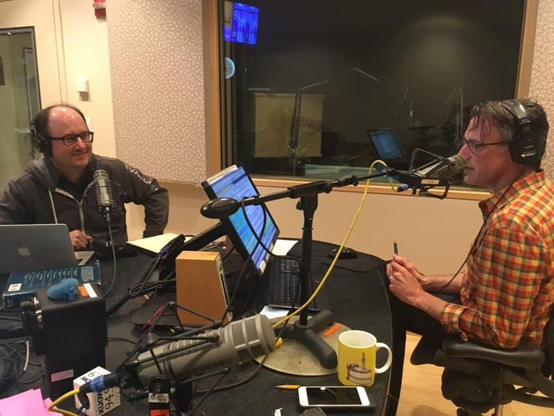 Todd Bishop does his best to explain LinkedIn to KUOW's Bill Radke.