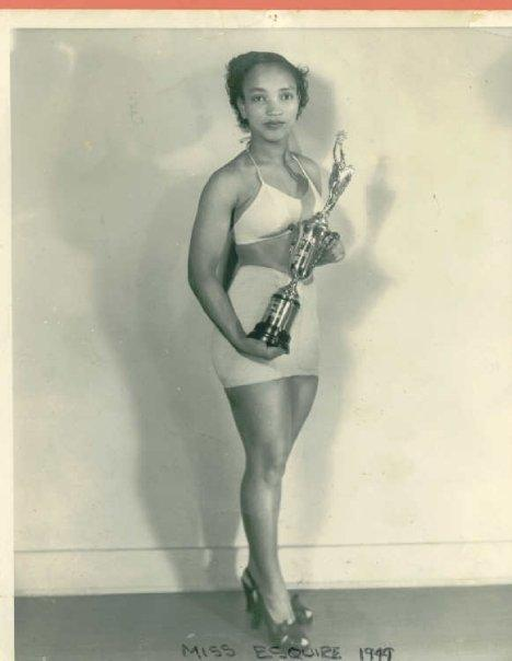 Jessie Grimes McQuarter in 1949. She won the Royal Esquire Club pageant two years in a row. Now 84, McQuarter lives in Covington.