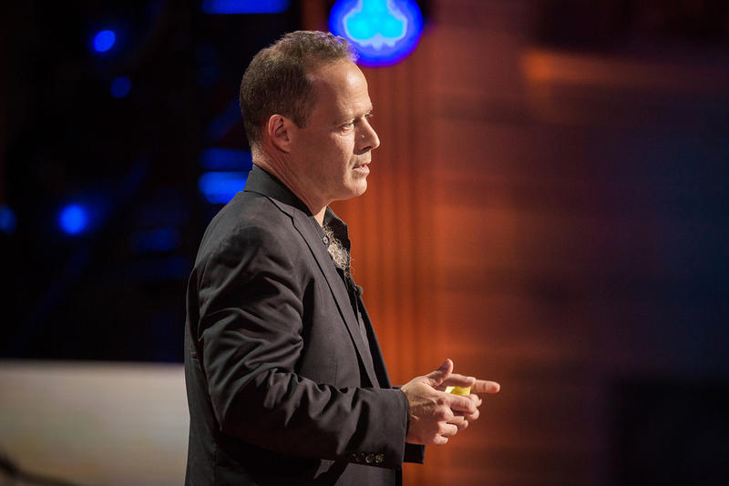 Sebastian Junger speaks at TED Talks Live in November 2015 at Town Hall New York.